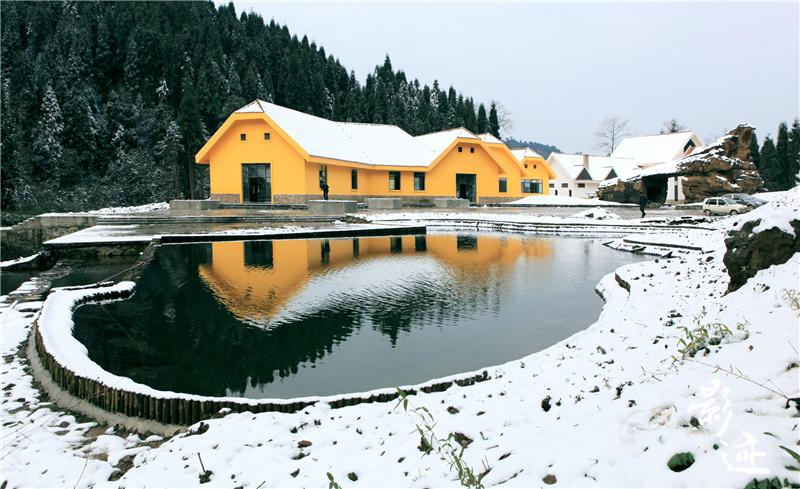 冬季赏雪  雅安多美景